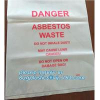 Buy cheap BIOHAZARD AUTOCLAVABLE,ASBESTOS, MEDICAL WASTE DISPOSAL SACKS, PATIENT BELONGING from wholesalers