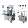 China High Efficiency Nail Polish Bottle Filling Machine 220V With Servo Capper wholesale