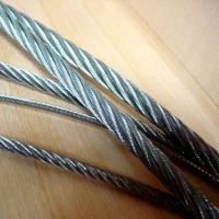 China JIS 7x37 T/S Plastic Coated Wire Rope Fitness Equipment SGS ISO wholesale