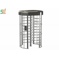 China Electronic Security Single Full Height Turnstiles For Indoor Library wholesale