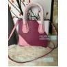 China New Knockoff Michael Kors Mercer Purple Genuine Leather Women's Bag wholesale