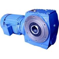China S Series Worm Gear Speed Reducer , Ac Motor Gear Reducer 1.8-61rpm Speed wholesale
