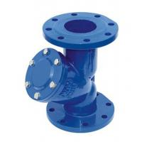 China 6 Inch Pressure Y Type Strainers , Cast Iron Flanged Water Y Strainer wholesale