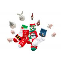 China Christmas Decoration Cotton Winter Socks 75% Cotton And 25% Spandex Material wholesale