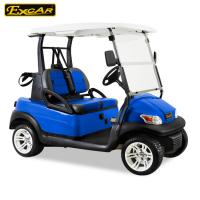 Buy cheap AC OR DC Powered Electric Golf Carts For 2 Person , 48V Trojan Battery from wholesalers