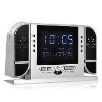 China Wholesale HD Spy Camera Alarm Clock with Nightvision wholesale