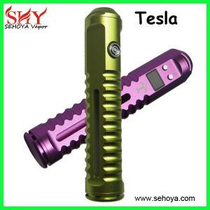 China Original Tesla Variable Voltage mod YoungJune tesla mod patent mod e cig kits wholesale