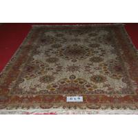 wool/silk mixed persian rug turkish rug traditional rug handmade rug