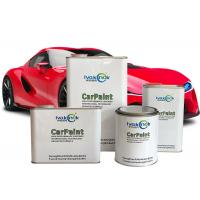 China Durable Metallic Red Car Paint , Two Component Varnish Epoxy Paint Thinner wholesale