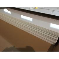 China Ivory White PVC Ceiling Panels Glossy Oil Protecting Plastic Ceiling Tiles 603mm x 1210mm wholesale