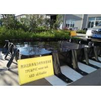 China Heavy Duty PVC Oil Containment Berms , Temporary Containment Berms Fixing Auto Equipment on sale