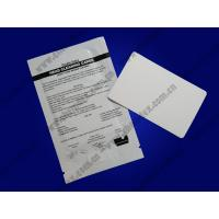 China CRCC-CR80 Card reader cleaning card/ card printer clean cards / cleaning kits wholesale
