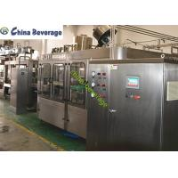 China Small  Carbonated Drink Filling Machine Fully Automatically Isobaric Filling wholesale