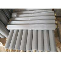 China Metal Fine Plain Weave 316  Wire Mesh Filter Screen Stainless Steel With 1 - 635 Mesh Hole wholesale