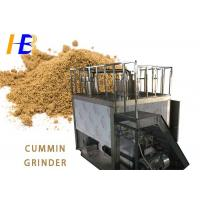 China Cumin Seeds Food Pulverizer Machine , 100 - 1000kg/h Ultra Fine Grinding Mill on sale