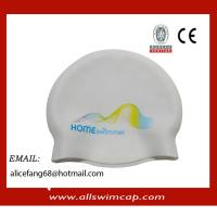 China No wrinkle silicone rubber swim caps for Junior wholesale