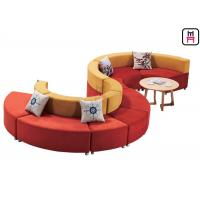 China S Shaped  Custom Made Commercial Booth Seating  For Hotel And Conference Centers wholesale