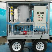 China CE Certified Vacuum Transformer Oil Filtration Machine with Pheumatic Tyres wholesale