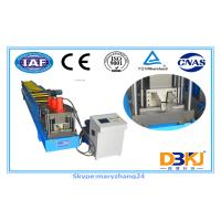Buy cheap 380V Gutter Roll Forming Machine / Color Steel Metal Roll Former Omron Encoder from wholesalers