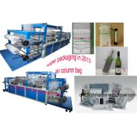 China Wine bottle packing bag making machine on sale