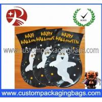 China Black Eco-Friendly Plastic Treat Bags 0.02mm - 10mm With Ties For Packing wholesale