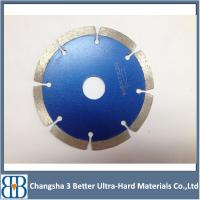 China High-quality Laser-welded Sintered Segmented Diamond Saw Blades wholesale