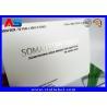 China Somatropin Bodybuilding Hgh Tablets Custom Pill Box / Medicine Carton Box wholesale