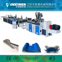 China Professional Manufactures Plastic PVC Twin-Wall Two Layers Hollow Roofing Sheet Making machine wholesale