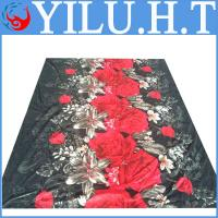 China polyester floral print flower printed bedsheets wholesale wholesale