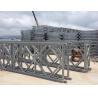 China Prefabricated Q345B Single Lane Bridge , Hot Dip Galvanized Steel Bridge wholesale