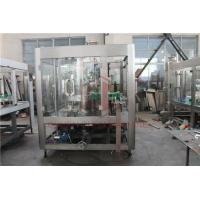 China 5000BPH Carbonated Drink Filling Machine Backup Pressure Juice Bottling Line wholesale