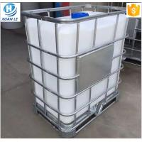 China Stackable rectangular stainless steel cubic used ibc containers for sale wholesale
