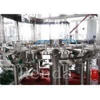 China Automated Commercial Carbonated Drink Filling Machine 2000 BPH 380V 2000KG wholesale