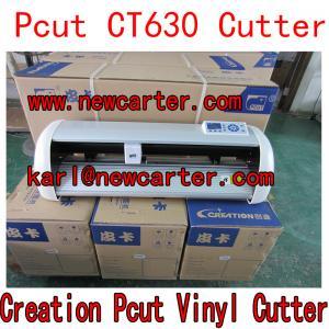 China Creation Pcut CT630 Cutting Plotter CTN630 Vinyl Sign Cutter Pcut Vinyl Cutter USB Drive wholesale