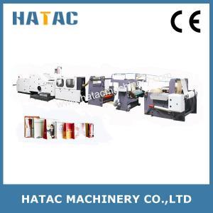 China Full Line Paper Bag Printing and Making Machine,Shopping Bag Making Machinery,Handle Paper Bag Making Machine wholesale
