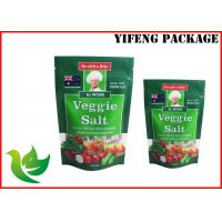 China Trade Assurance Sauce Packaging Zip Lock Plastic Bags , Resealable Stand Up Pouch Bag wholesale