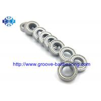 China Ball Bearing Replacement 6806-2RS Radial Ball Bearing 6806-ZZ Two Rubber Seals wholesale