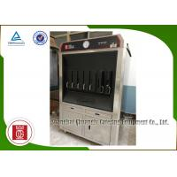 China Charcoal Heating 6 Fish Spaces Single Layer Fish Grill Machine Rectangle Shape wholesale