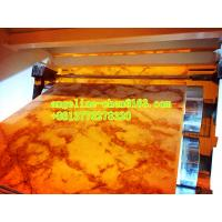 China Cheap good quality multi pattern pvc marble sheet extrusion machinery wholesale