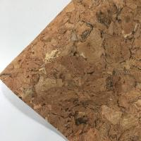 Quality 0.4-1.2MM Thickness Cork Leather Fabric Natrual Sound Insulating Dirt Repellent for sale