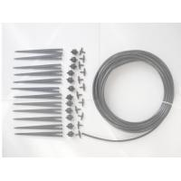 """China 12 Pressure Compensating Garden Water Drippers Micro Pipe Kits 1/4"""" Connection Size wholesale"""