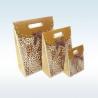 China Custom Design Printed Paper Gift Bags , Decorative Paper Bags Multi Size wholesale