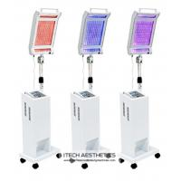 China Blue / Red  PDT LED Light Therapy Machine For Skin Care Anti Aging wholesale