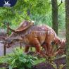 China Outside Mechanical Realistic Life Size Dinosaur Models For Exhibit wholesale