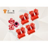 China Fine Alloy Steel Endurable Taper Button Bit For Environmental Drilling wholesale