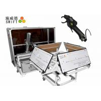 China Full Automatic Cable Tie System , Wire Tying Machine For Bundling Synchromesh wholesale