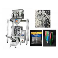 China 4 Head Automatic Rice Packing Machine , Bean / Rice Bag Packing Machine on sale