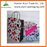 China Kraft Paper Bag Twisted Handle Paper Bag wholesale