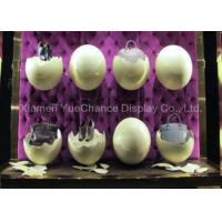 China Artificial Egg Shell Window Display Decorations , Shop Window Decoration on sale