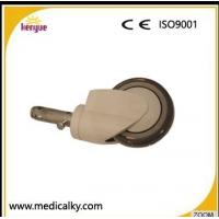 China Industrial Hospital Bed Casters , TPR PP Core 5 Inch Caster Wheels For Hospital Beds wholesale
